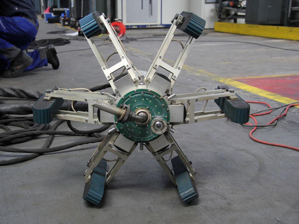 Roboter Jetty einsatzbereit