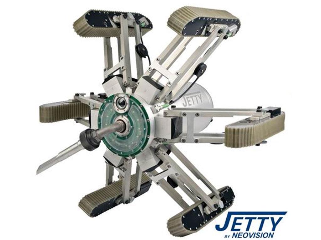 Lüftungsreinigung mit Roboter Jetty